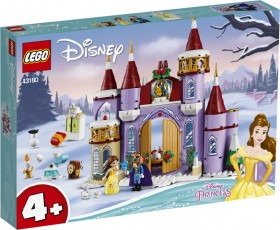 LEGO-Disney-Belles-Castle-Winter-Celebration-43180 on sale