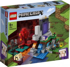 LEGO-Minecraft-The-Ruined-Portal-21172 on sale