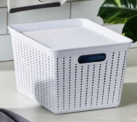 30-off-Rattan-Basket-36x30x22cm on sale
