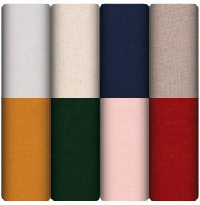 All-Plain-Cotton-Linen-Fabric on sale