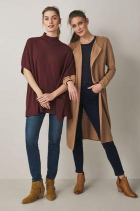 Capture-Merino-Rib-Front-Long-Cardigan on sale