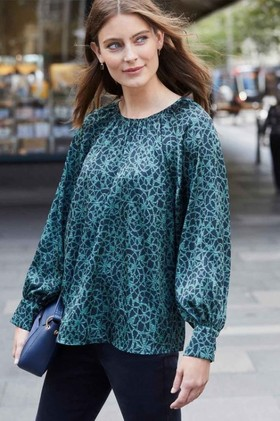 Emerge-Gather-Detail-Blouse on sale
