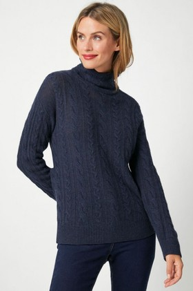 Capture-Lambswool-Cable-Funnel-Neck on sale