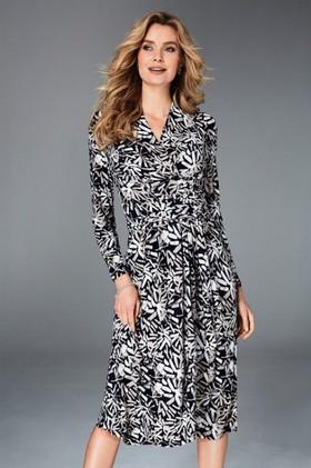 Kaleidoscope-Knot-Waist-Dress on sale