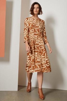 Grace-Hill-Pleat-Waist-Midi-Dress on sale