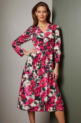 Grace-Hill-Button-Front-Midi-Dress on sale
