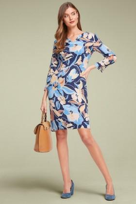 Capture-Printed-Shift-Dress on sale