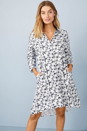 Mia-Lucce-Classic-Flannel-Nightshirt on sale