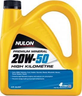 Nulon-High-Kilometre-20W-50-4L on sale