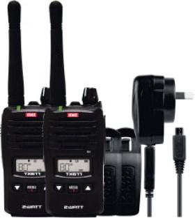 GME-2-Watt-UHF-CB-Handheld-Radio-Twin-Pack on sale