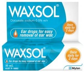 Waxsol-Ear-Drops-10mL on sale