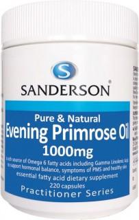 Sanderson-Evening-Primrose-Oil-1000mg-220-Capsules on sale