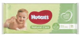 Huggies-Baby-Wipes-Natural-Care-56-Pack on sale