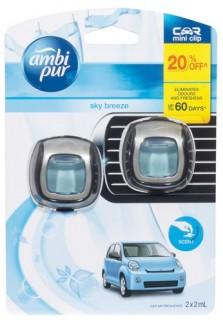 Ambi-Pur-Car-Mini-Clip-Sky-Breeze-2-x-2mL on sale
