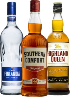 Finlandia-Vodka-1L-Southern-Comfort-1L-or-Highland-Queen-Blended-Scotch-Whisky-1L on sale