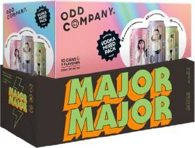 NEW-Odd-Company-Range-or-Major-Major-Range-10-x-330ml-Cans on sale