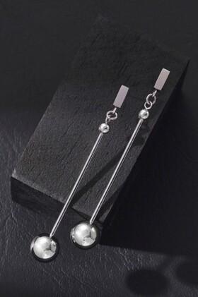 Fairfax-Roberts-Contemporary-Long-Drop-Ball-Earrings on sale