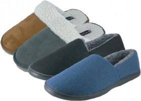 Mens-Mule-Comfort-Slippers on sale