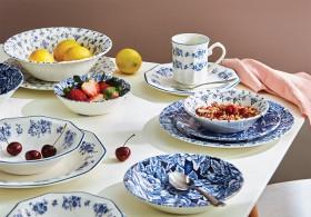 Churchill-Blue-Chintz-New-Finlandia-Bermuda-Blue-Dinnerware on sale