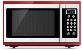 Breville-Red-34L-Microwave on sale