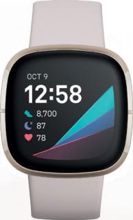 Fitbit-Sense-Lunar-WhiteGold on sale