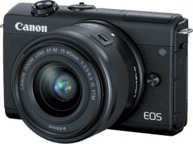 Canon-EOS-M200-24MP-Mirrorless-Camera-with-EF-M-15-45mm-Lens on sale