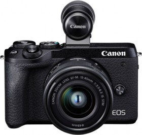 Canon-EOS-M6-II-Mirrorless-Camera-with-EF-M-15-45mm-IS-Lens on sale