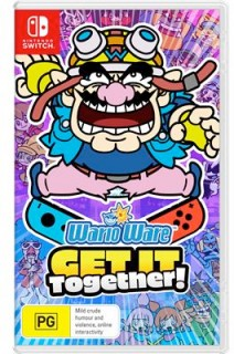 Nintendo-Switch-WarioWare-Get-It-Together on sale