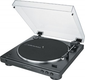 Audio-Technica-Fully-Automatic-Belt-Drive-Stereo-Turntable-with-Bluetooth-Black on sale
