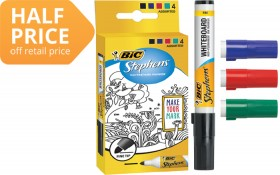 BIC-Stephens-Whiteboard-Markers on sale