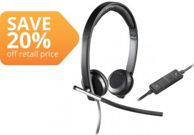 Logitech-H650E-USB-Stereo-Computer-Headset on sale