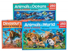 Animal-Book-Jigsaw-Puzzle-Sets on sale