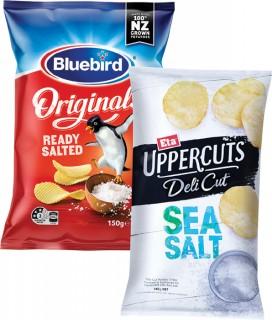 Bluebird-Original-Thick-or-Thinly-Cut-Potato-Chips-140-150g-or-Eta-Uppercut-Chips-150g on sale