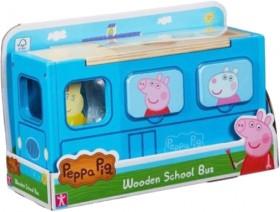Peppa-Pig-Wooden-School-Bus-Shape-Sorter on sale
