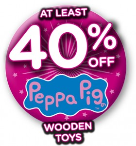 At-Least-40-off-Peppa-Pig-Wooden-Toys on sale