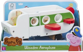 Peppa-Pig-Wooden-Aeroplane-with-Accessories on sale