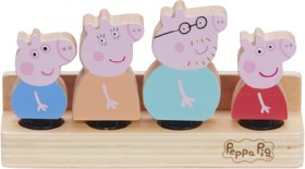 Peppa-Pig-Wooden-Family-Figures-4-Pack on sale