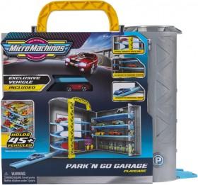Micro-Machines-Park-n-Go-Garage-Playcase on sale