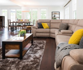 Vienna-5-Seater-Corner-Suite-with-Built-in-Recliners on sale