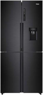 Haier-565L-Quad-Door-Black-Water-Dispenser-Fridge-Freezer on sale