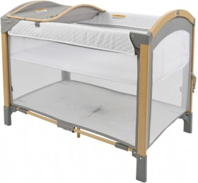 Jengo-Oasis-2-in-1-Cot-with-Changer on sale