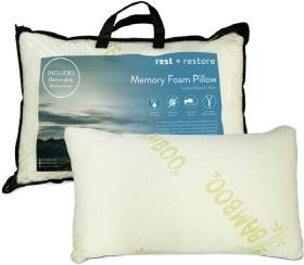 Bamboo-Memory-Foam-Pillow on sale