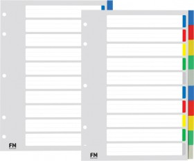 FM-Index-Dividers-10-Tab-A4-Colour on sale