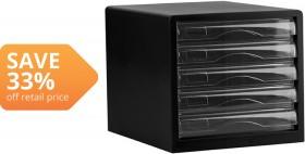 OfficeMax-5-Drawer-Desktop-Storage on sale