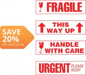 Large-Printed-Shipping-Labels on sale