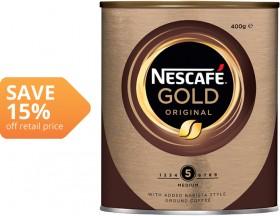 Nescaf-Gold-Original-400g on sale
