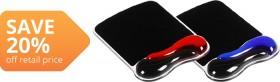 Kensington-Wrist-Rest-Mouse-Pad-Duo on sale