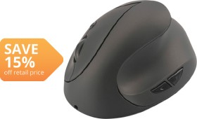 Digitus-Ergonomic-Vertical-Wireless-Mouse on sale