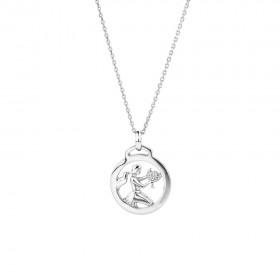 NEW-Virgo-Zodiac-Pendant-in-Sterling-Silver on sale