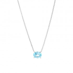 NEW-10mm-Sky-Blue-Topaz-Necklace-in-Sterling-Silver on sale